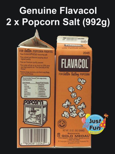 Flavacol Butter Salt 2 Cartons