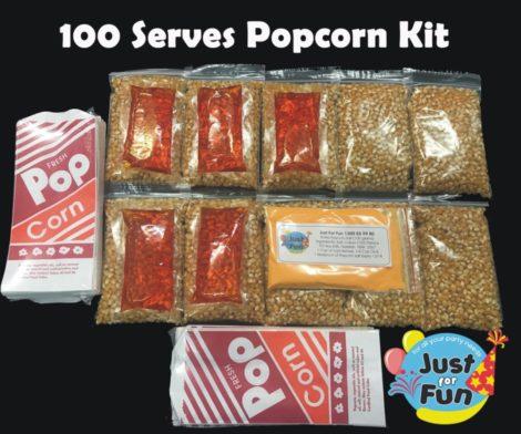 Popcorn 100 serves