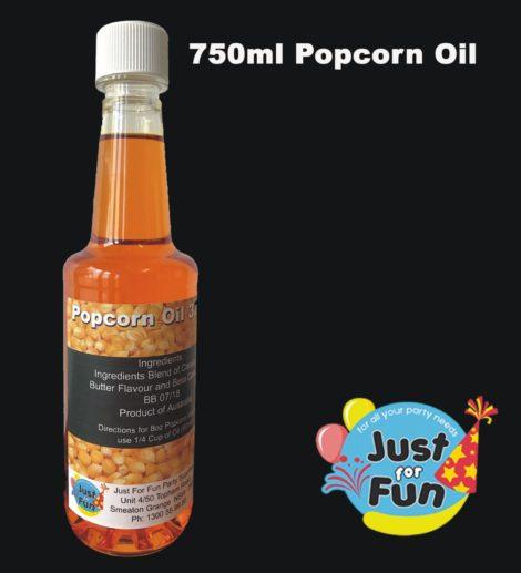 Popcorn Oil 750ml Bottle